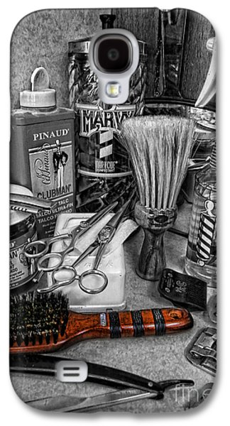 The Barber's Brush Galaxy S4 Case by Lee Dos Santos