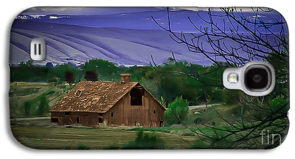 Yakima Valley Galaxy S4 Cases - The Barn Galaxy S4 Case by Robert Bales