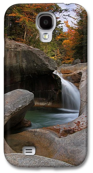 Beautiful Creek Galaxy S4 Cases - The Basin in the New Hampshire White Mountain National Forest Galaxy S4 Case by Juergen Roth