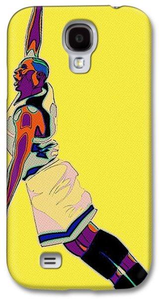 Dunk Galaxy S4 Cases - The Basketball Player Galaxy S4 Case by Florian Rodarte
