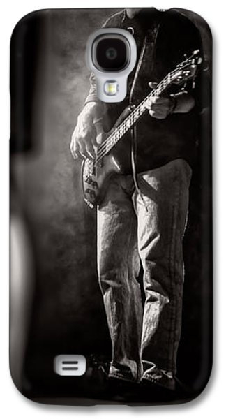 Saxophone Photographs Galaxy S4 Cases - The Bassist Galaxy S4 Case by Bob Orsillo