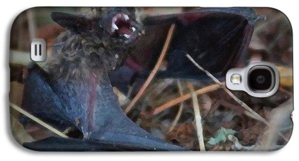 Bat Digital Art Galaxy S4 Cases - The Bat Painterly Galaxy S4 Case by Ernie Echols