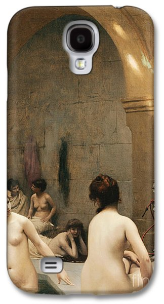 Gerome Galaxy S4 Cases - The Bathers Galaxy S4 Case by Jean Leon Gerome