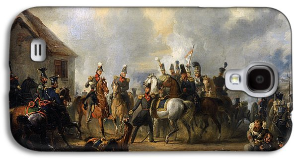 1833 Galaxy S4 Cases - The Battle Of Bautersem During The Ten Days Campaign, 1833, By Nicolaas Pieneman 1809-1860 Galaxy S4 Case by Bridgeman Images