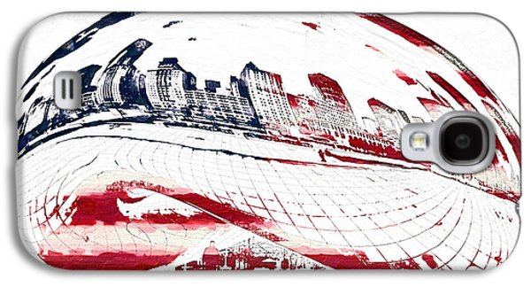 Financial Mixed Media Galaxy S4 Cases - The Bean - American Icon Galaxy S4 Case by Celestial Images
