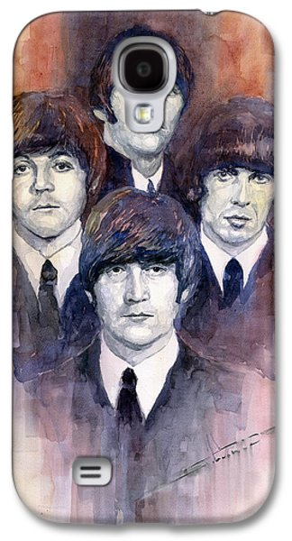 Beatles Galaxy S4 Cases - The Beatles 02 Galaxy S4 Case by Yuriy  Shevchuk