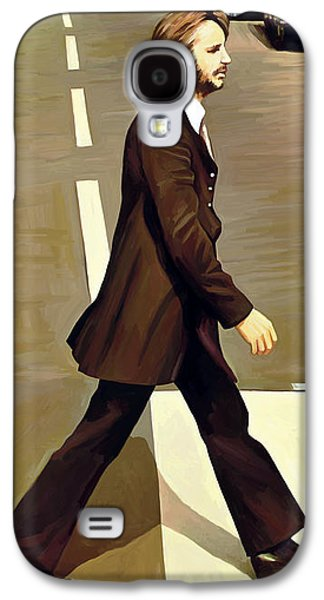 Mccartney Galaxy S4 Cases - The Beatles Abbey Road Artwork Part 3 of 4 Galaxy S4 Case by Sheraz A