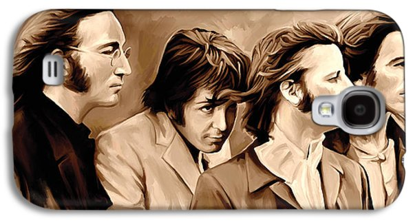 Mccartney Galaxy S4 Cases - The Beatles Artwork 4 Galaxy S4 Case by Sheraz A