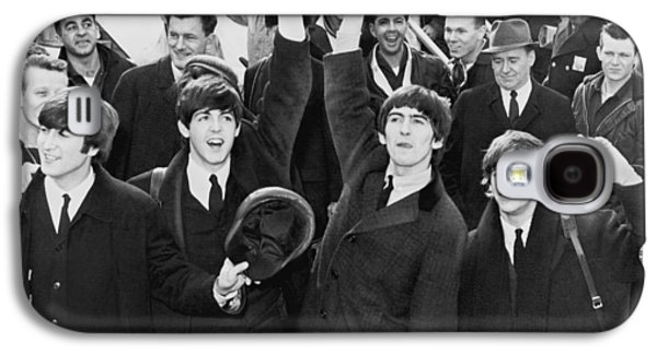 Ringo Starr Galaxy S4 Cases - The Beatles in America Galaxy S4 Case by Nomad Art And  Design