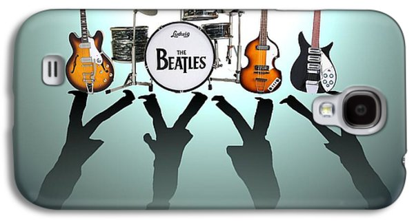 Famous Band Galaxy S4 Cases - The Beatles Galaxy S4 Case by Lena Day