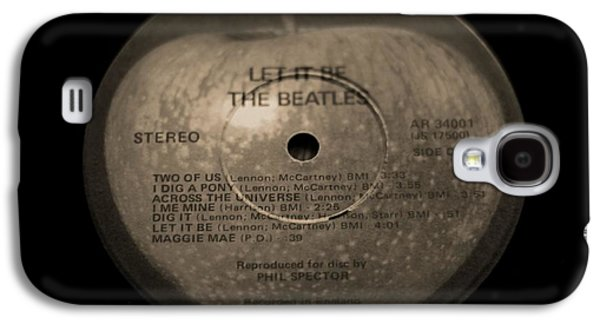 Beatles Photographs Galaxy S4 Cases - The Beatles Let It Be Galaxy S4 Case by Dan Sproul