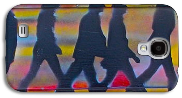 Beatles Galaxy S4 Cases - The Beatles Long Wood Galaxy S4 Case by Tony B Conscious