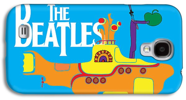 Famous Artist Galaxy S4 Cases - The Beatles No.11 Galaxy S4 Case by Caio Caldas