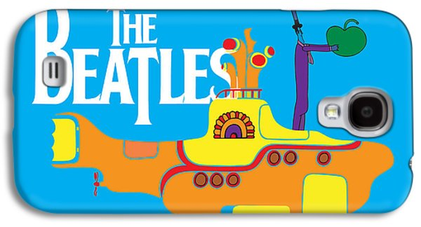 Beatles Galaxy S4 Cases - The Beatles No.11 Galaxy S4 Case by Caio Caldas