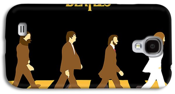 Famous Artist Galaxy S4 Cases - The Beatles No.19 Galaxy S4 Case by Caio Caldas