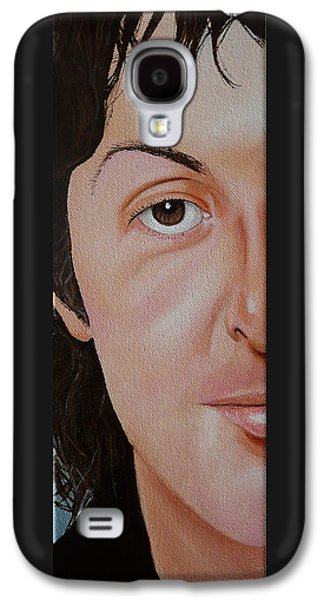 Beatles Galaxy S4 Cases - The Beatles Paul McCartney Galaxy S4 Case by Vic Ritchey