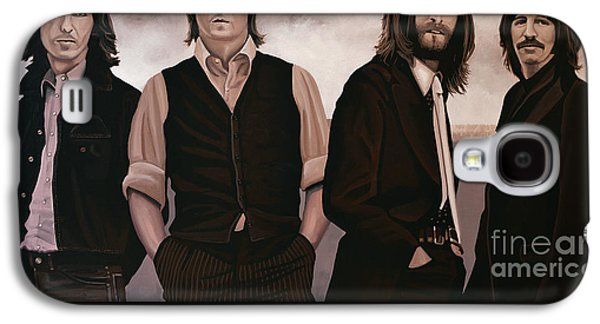 Work Of Art Galaxy S4 Cases - The Beatles Abbey Road Galaxy S4 Case by Paul Meijering