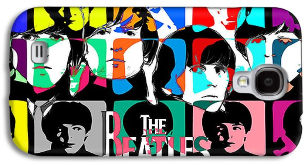 Beatles Galaxy S4 Cases - The Beatles retro Galaxy S4 Case by Jerry Cordeiro