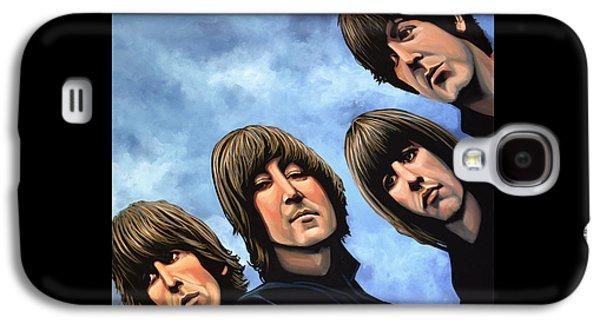 The Beatles Rubber Soul Galaxy S4 Case by Paul Meijering