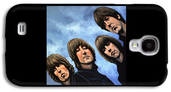 Work Of Art Galaxy S4 Cases - The Beatles Rubber Soul Galaxy S4 Case by Paul Meijering
