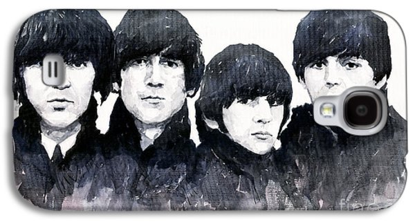 Beatles Galaxy S4 Cases - The Beatles Galaxy S4 Case by Yuriy  Shevchuk