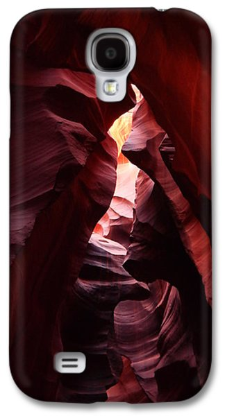 Abstracts Galaxy S4 Cases - The Beauty Of Antelope Canyon Galaxy S4 Case by Jeff  Swan