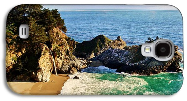 Seacape Galaxy S4 Cases - The Beauty of Big Sur Galaxy S4 Case by Benjamin Yeager