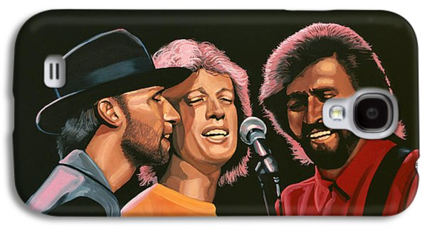 Pop Music Galaxy S4 Cases - The Bee Gees Galaxy S4 Case by Paul Meijering