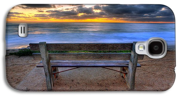 California Beach Art Galaxy S4 Cases - The Bench II Galaxy S4 Case by Peter Tellone