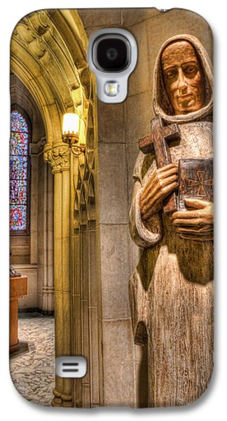 The Wooden Cross Galaxy S4 Cases - The Benedictine Order Galaxy S4 Case by Lee Dos Santos