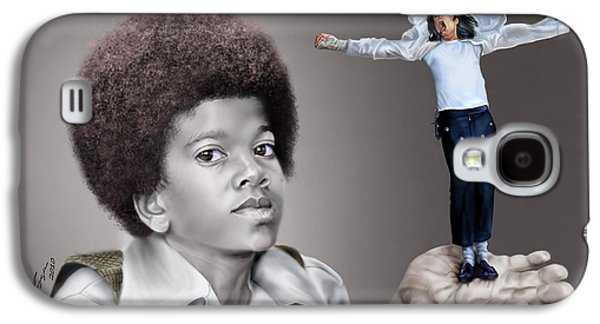 The Best Of Me - Handle With Care - Michael Jacksons Galaxy S4 Case by Reggie Duffie