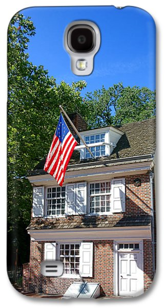 The Betsy Ross House Galaxy S4 Case by Olivier Le Queinec