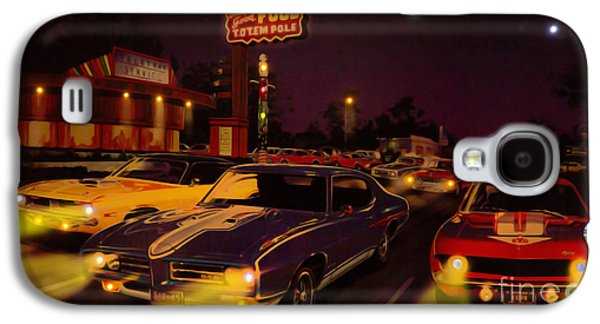 The Big 3 Street Racing Galaxy S4 Case by Al Bourassa