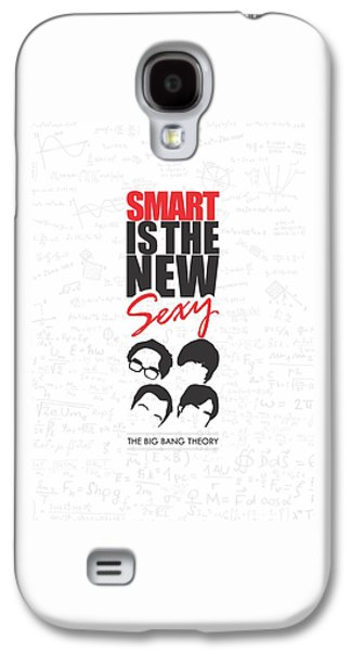Posters On Digital Galaxy S4 Cases - The Big Bang Theory Typography Print Galaxy S4 Case by Lab No 4 - The Quotography Department