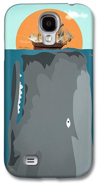 Animation Galaxy S4 Cases - The Big Fish Galaxy S4 Case by Mark Ashkenazi