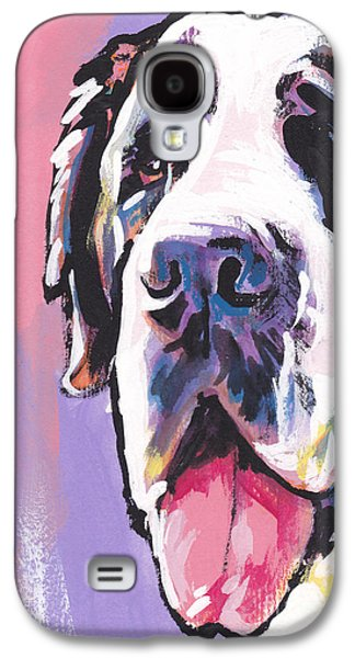 Recently Sold -  - Puppies Galaxy S4 Cases - The Big Saint Galaxy S4 Case by Lea