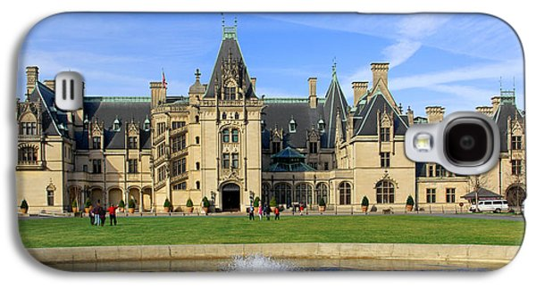 Asheville Galaxy S4 Cases - The Biltmore Estate - Asheville North Carolina Galaxy S4 Case by Mike McGlothlen
