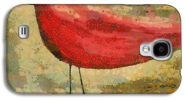 Dots Digital Art Galaxy S4 Cases - The Bird - k03b Galaxy S4 Case by Variance Collections