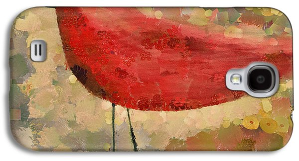 Digital Mixed Media Galaxy S4 Cases - The Bird - k04d Galaxy S4 Case by Variance Collections