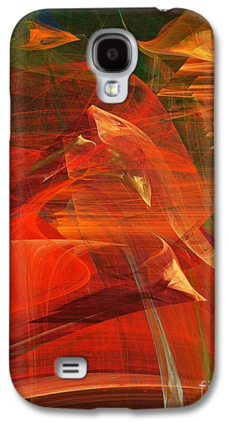 Algorithmic Abstract Galaxy S4 Cases - The Bird Whisperer . A120423.693 Galaxy S4 Case by Wingsdomain Art and Photography