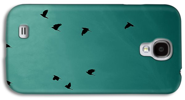 Nature Abstracts Galaxy S4 Cases - The Birds Galaxy S4 Case by Martin Newman