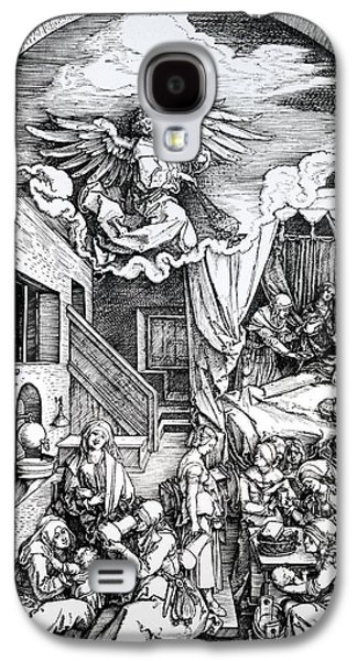 The Birth Of The Virgin, From The Cycle Of The Life Of The Virgin, 1511 Galaxy S4 Case by Albrecht Durer or Duerer