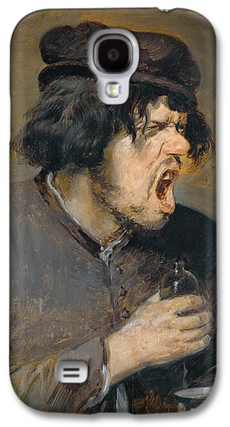 1636 Paintings Galaxy S4 Cases - The Bitter Potion Galaxy S4 Case by Adriaen Brouwer