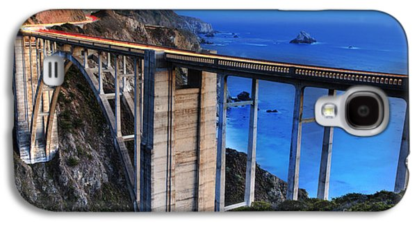 Bixby Bridge Galaxy S4 Cases - The Bixby Bridge  Galaxy S4 Case by Marco Crupi