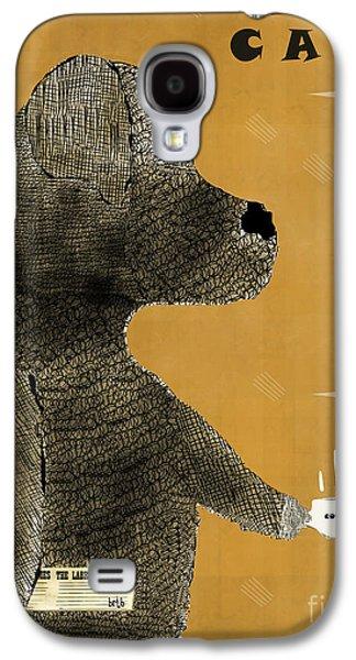 Labrador Digital Galaxy S4 Cases - The Black Lab  Galaxy S4 Case by Bri Buckley