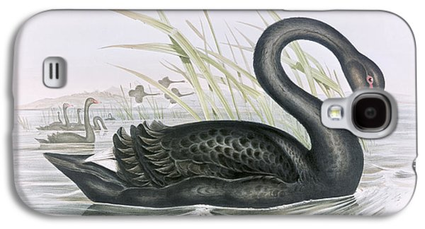 The Black Swan Galaxy S4 Case by John Gould