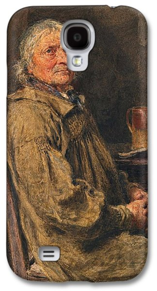 Blessings Paintings Galaxy S4 Cases - The Blessing Galaxy S4 Case by William Henry Hunt
