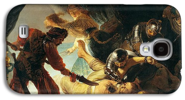 1636 Paintings Galaxy S4 Cases - The Blinding of Samson Galaxy S4 Case by Rembrandt van Rijn