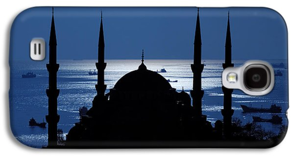 Istanbul Galaxy S4 Cases - The Blue Mosque Galaxy S4 Case by Ayhan Altun