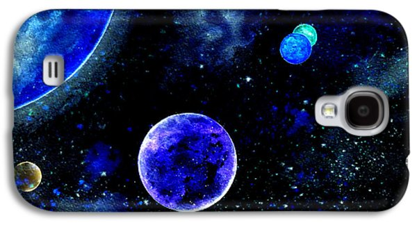 Intergalactic Space Galaxy S4 Cases - The Blue Planet Galaxy S4 Case by Bill Holkham